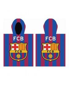 Poncho toalla FC BARCELONA