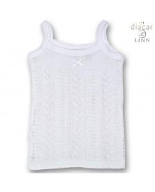Camiseta tirantes DIACAR perlé