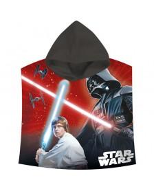 Poncho toalla Star Wars Darth Vader saga  algodon