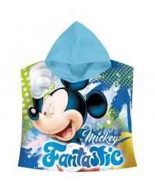 Poncho toalla Mickey Disney Fantastic Algodón