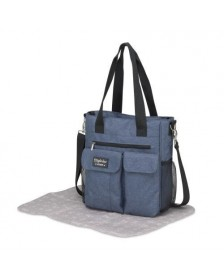 Bolso cambiador PIRULOS CARRY DENIM