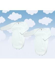 Body MONCAYO M/L algodón bebé 2 ud.