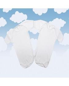 Body MONCAYO M/C algodón bebé 2 ud.