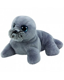Peluche TY BEANIE BOOS WIGGY-SEA LION GREY 23CM