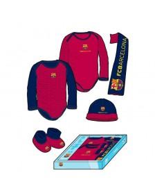 Conjunto MADNESS FC BARCELONA bebé 5 PZS