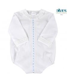 Chapona ALVES body camisa bebé Celeste