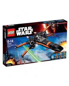 Poe's X-Wing Fighter Lego Star Wars