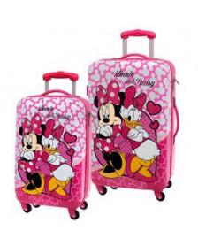 Set 2 maletas trolleys MINNIE DAISY