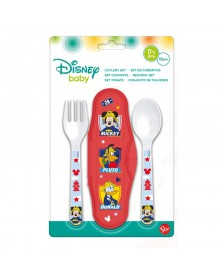 Set Cubiertos DISNEY Mickey Baby