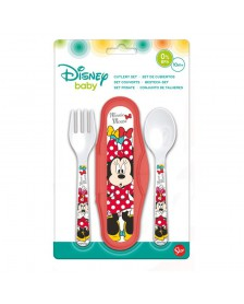 Set Cubiertos DISNEY Minnie Baby