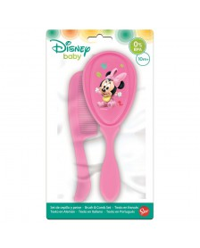 Set Cepillo y peine DISNEY Minnie Baby