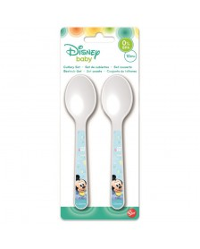Set Cubiertos DISNEY cucharas Mickey Baby