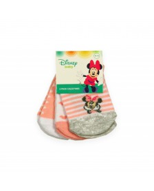 Calcetín MINNIE MOUSE bebé niña 3 pares