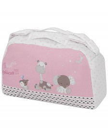 Bolso maternal INTERBABY Papis Felices Rosa