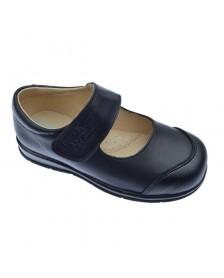 Zapato colegial ANGELITOS 463 Negro niña