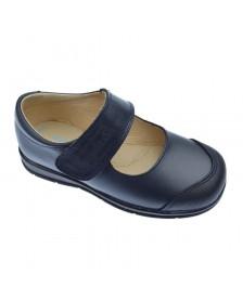 Zapato colegial ANGELITOS 463 Marino niña