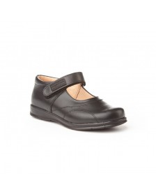 Zapato colegial ANGELITOS 461 Negro niña