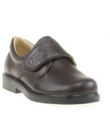 Zapato Colegial ANGELITOS 435 Cholocate niño