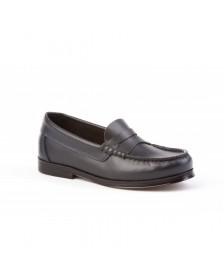 Zapatos Mocasín Colegiales ANGELITOS Castellanos 592 Marino niño