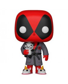 Funko POP Marvel Deadpool Parody Deadpool in Robe