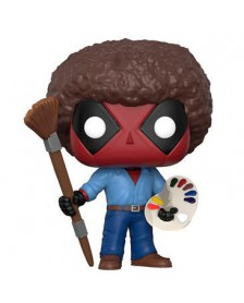 Funko POP Marvel Deadpool Parody Deadpool Bob Ross
