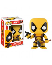 Funko POP Marvel Deadpool RS Slapstick Yellow Exclusive