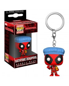 Llavero Funko Pocket POP Marvel Deadpool Bathtime
