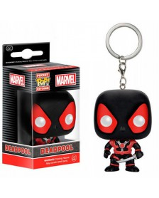 Llavero Funko Pocket POP Black Deadpool Marvel