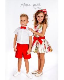 Vestido ALMA PETIT ALBER 7010 ceremonia niña