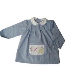 Baby ALBER Guardería Cuadros bolsillo bordado