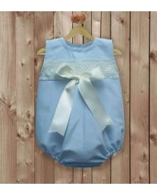 Ranita piqué LA CASITA DE PEPITO 2009 bebé niño Azul