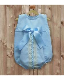 Ranita piqué LA CASITA DE PEPITO 2008 bebé niño Azul