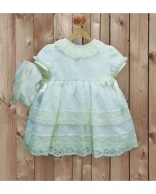 Vestido LILUS Ceremonia bebé niña