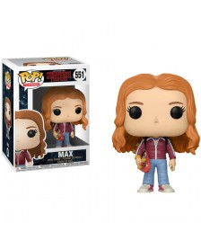Funko POP Stranger Things Max with skate deck