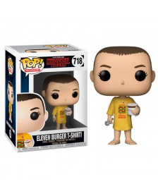 Funko POP Stranger Things Eleven in Burger Tee