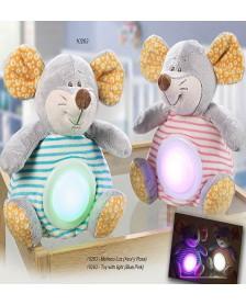 Muñeco ratón luz GAMBERRITOS 10263