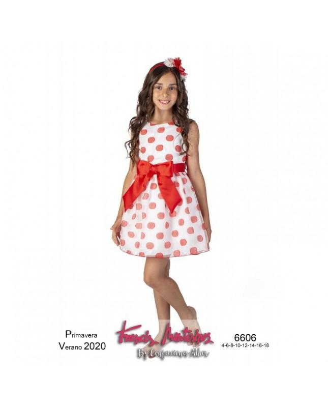 Vestido FRANCIS MONTESINOS CONFECCIONES ALBER niña 6606