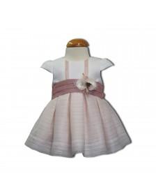 Vestido organza ANAVIG PIZPIRETA bebé niña 1025