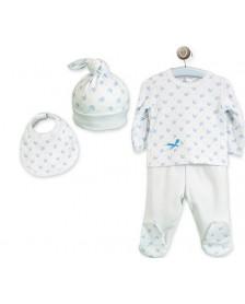 Pack regalo bebé 4 piezas CALAMARO