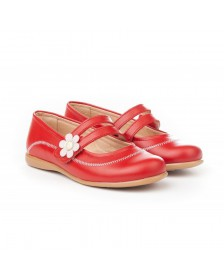Francesita mercedita ANGELITOS velcro flor 524 Rojo