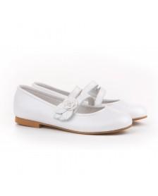 Bailarina Comunión niña ANGELITOS Flor pétalos 990 Blanco
