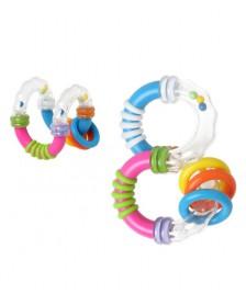 Sonajero bebé KIOKIDS diferentes formas
