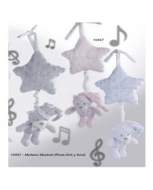 Peluche osito musical GAMBERRITOS estrella 10457