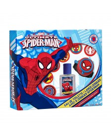 Set colonia reloj lanzadiscos SPIDERMAN