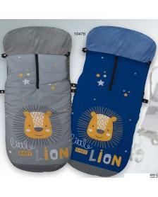 Saco universal silla paseo GAMBERRITOS Little Baby Lion 10476