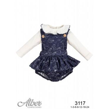 Conjunto bebé niña ALBER 3117