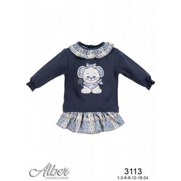 Conjunto bebé niña ALBER 3113