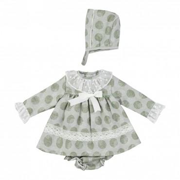 Vestido jesusito bebé niña...