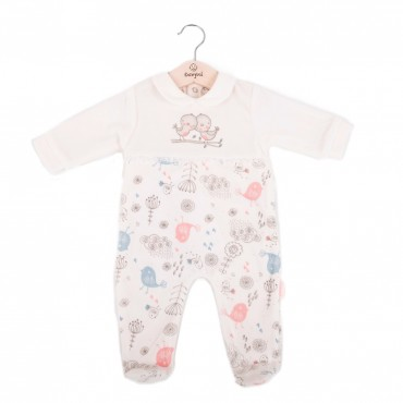 Pelele pijama bebé manga...