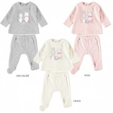 Pijama bebé manga larga...
